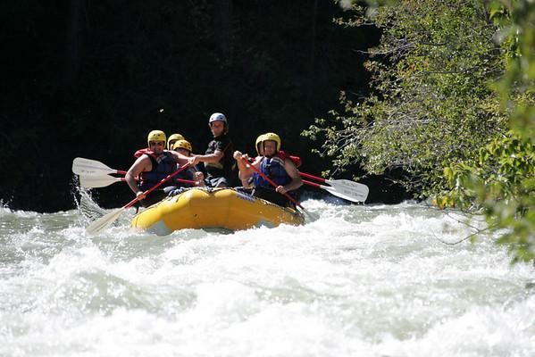 Rafting the Tieton River