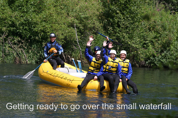 Rafting the White Salmon River
