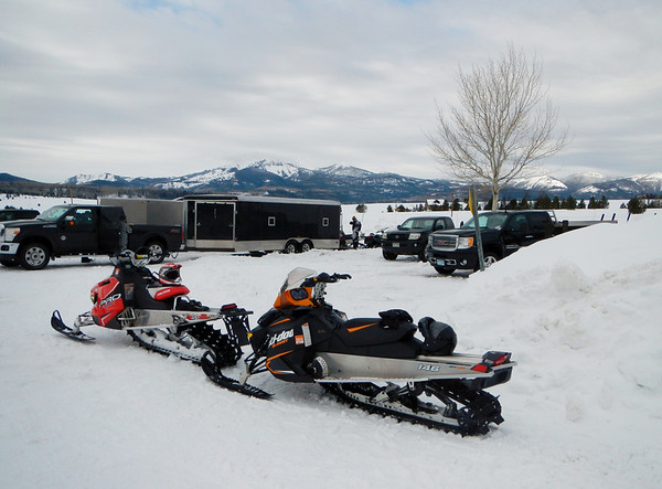 Snowmobiling Steamboat Springs CO